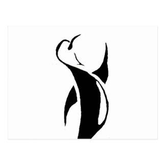 Stammen Pinguïn Briefkaart