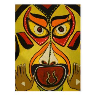 Stammen Schreeuw Briefkaart