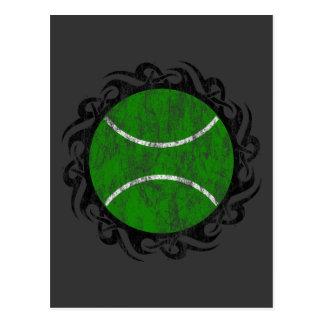 stammen tennis briefkaart