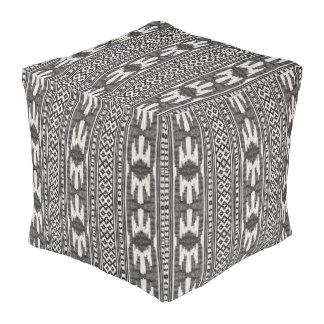 Stammen Textiel Vierkante Poef