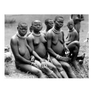 Stammen Vrouwen van Oeganda Briefkaart