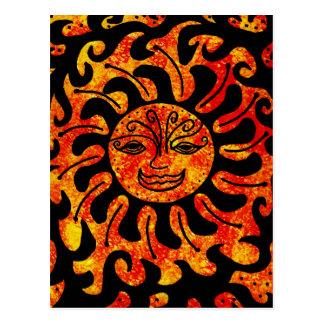 Stammen Zon Briefkaart