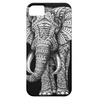 Stammen Zwarte Olifant Barely There iPhone 5 Hoesje