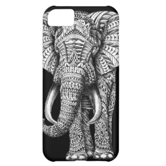 Stammen Zwarte Olifant iPhone 5C Hoesje
