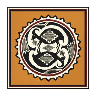 StammenMt. de Druk van Mimbres van het Canvas van