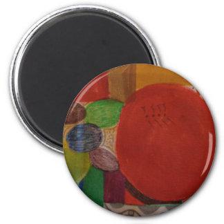 Standaard 2 1/4 ronde magneet