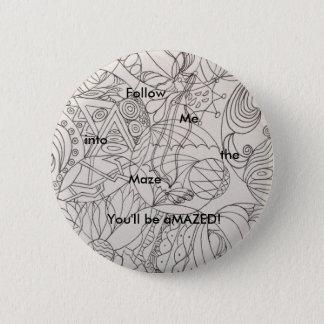 Standaard Knoop met tekst Ronde Button 5,7 Cm