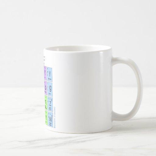 Standaard Model van Elementaire Deeltjes Koffie Beker