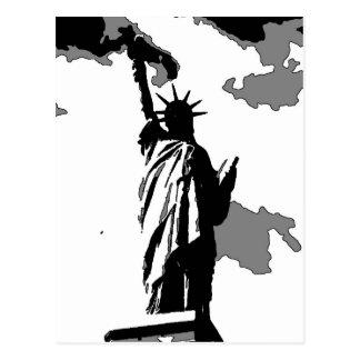 Standbeeld van de Stad van New York van de Briefkaart