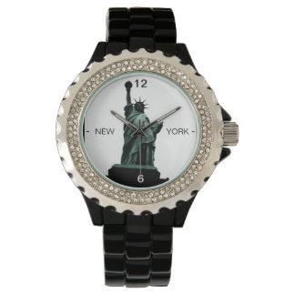 Standbeeld van het Horloge van de Stad van New
