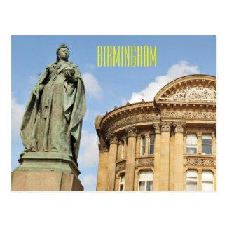 Standbeeld van Koningin Victoria in Birmingham, Briefkaart