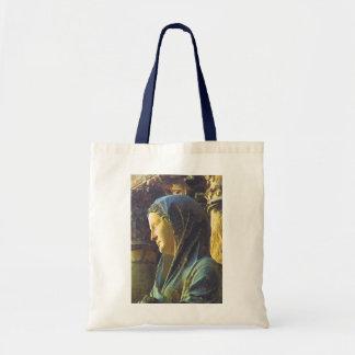 Standbeeld van Maagdelijke Mary Budget Draagtas