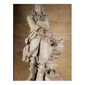 Standbeeld van Sebastien Le Prestre DE Vauban 1785 Briefkaart
