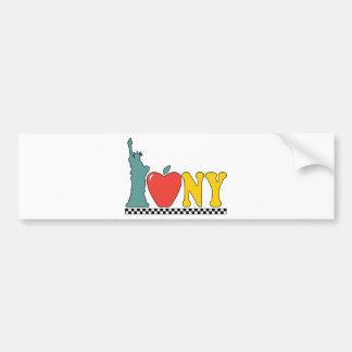 standbeeld van vrijheid bumpersticker