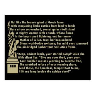 Standbeeld van Vrijheid - het Nieuwe Patriottische Briefkaart