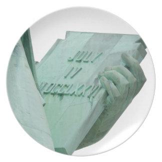 Standbeeld-van-vrijheid Melamine+bord