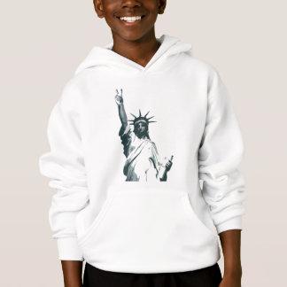 Standbeeld van Vrijheid… met een draai van vrede