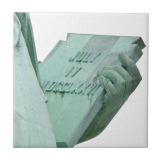 Standbeeld-van-vrijheid Tegeltje