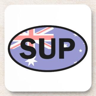 Standup Vlag van Paddleboard Australië Drankjes Onderzetters