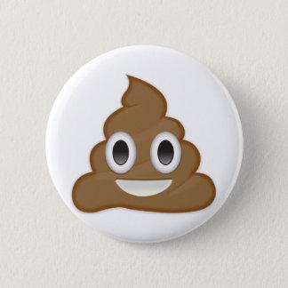 Stapel van Poo Emoji Ronde Button 5,7 Cm
