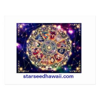 starmap, starseedhawaii.com briefkaart