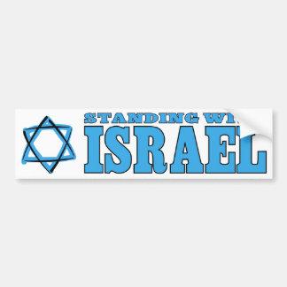Status met Israël Bumpersticker