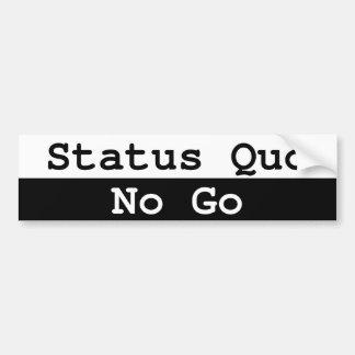 Status-quo Bumpersticker