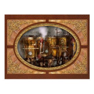 Steampunk - Loodgieterswerk - apparaten Briefkaart