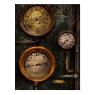 Steampunk - Loodgieterswerk die - succes meten Briefkaart