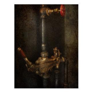 Steampunk - Loodgieterswerk - Nummer 4 - Algemeen Briefkaart
