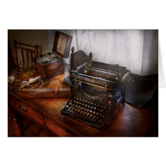 Steampunk - Schrijfmachine - de geheime Kaart