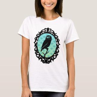 Stedelijke Artistieke Ornated Ontworpen Uil T Shirt