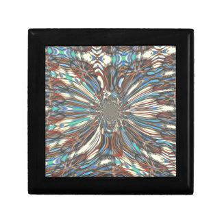 Stedelijke fantastische Mooie ontwerpKleuren Vierkant Opbergdoosje Small