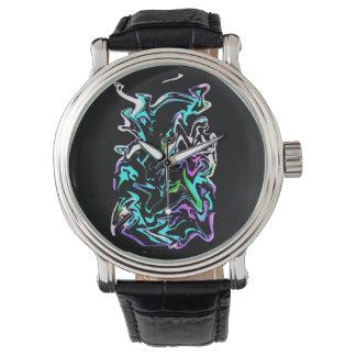 Stedelijke graffiti horloges