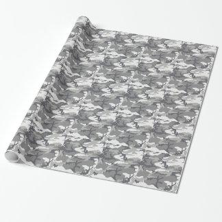Stedelijke Mannelijke Camo Inpakpapier