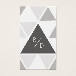 Stedelijke & Moderne Driehoek | Van de Bedrijfs Visitekaartjes