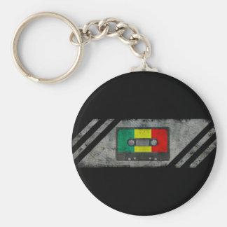 Stedelijke reggaecassette sleutelhanger