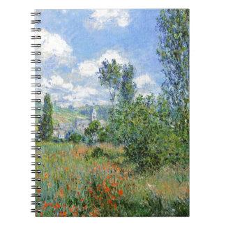 Steeg op de Gebieden van de Papaver - Claude Monet Notitieboek