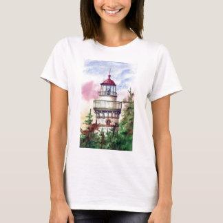 Steek de T-shirt van de Dames van de Vuurtoren van