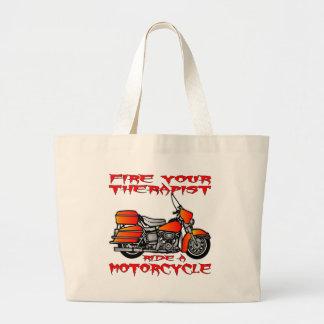 Steek Uw Rit van de Therapeut in brand een Motorfi Canvas Tas