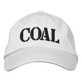 Steenkool Geborduurde Pet