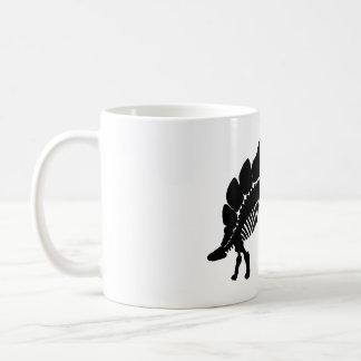 stegosaurus skelet koffiemok