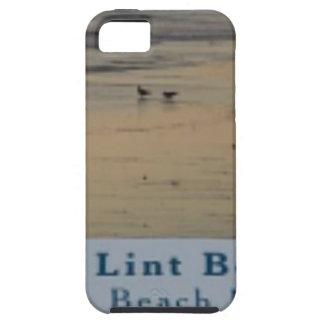 stel het Strand TLB van het Pluksel tevreden Tough iPhone 5 Hoesje