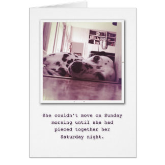 Stel op uw Verjaardag tevreden Briefkaarten 0