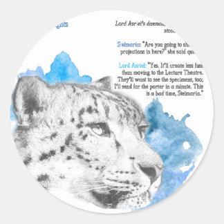 Stelmaria - Daemon van Asriel van Zijn Donker Ronde Sticker
