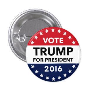Stem Donald Trump voor Speld 1 van het President Ronde Button 3,2 Cm
