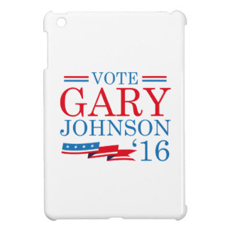 Stem Gary Johnson 2016 Hoesjes Voor iPad Mini