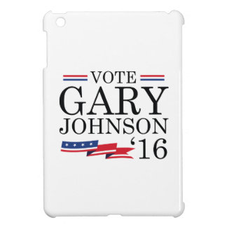 Stem Gary Johnson 2016 iPad Mini Hoesjes