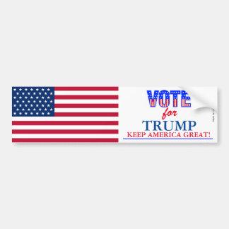 Stem voor de Sticker van de Bumper van de Troef
