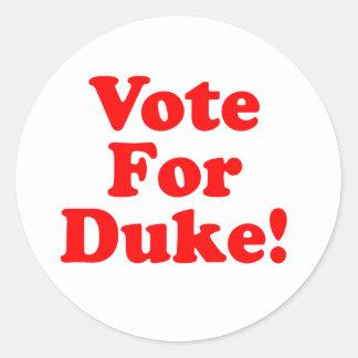 Stem voor de Sticker van Phillips van de Hertog